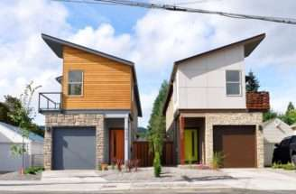 Home Designs Pinterest Narrow House Design