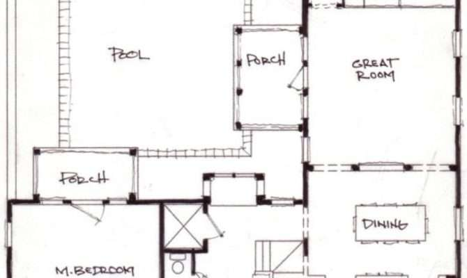 Home Designs Shaped House Plans Pool