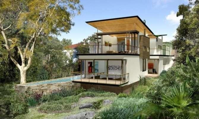 Home Designs Sloping Blocks Abid Top