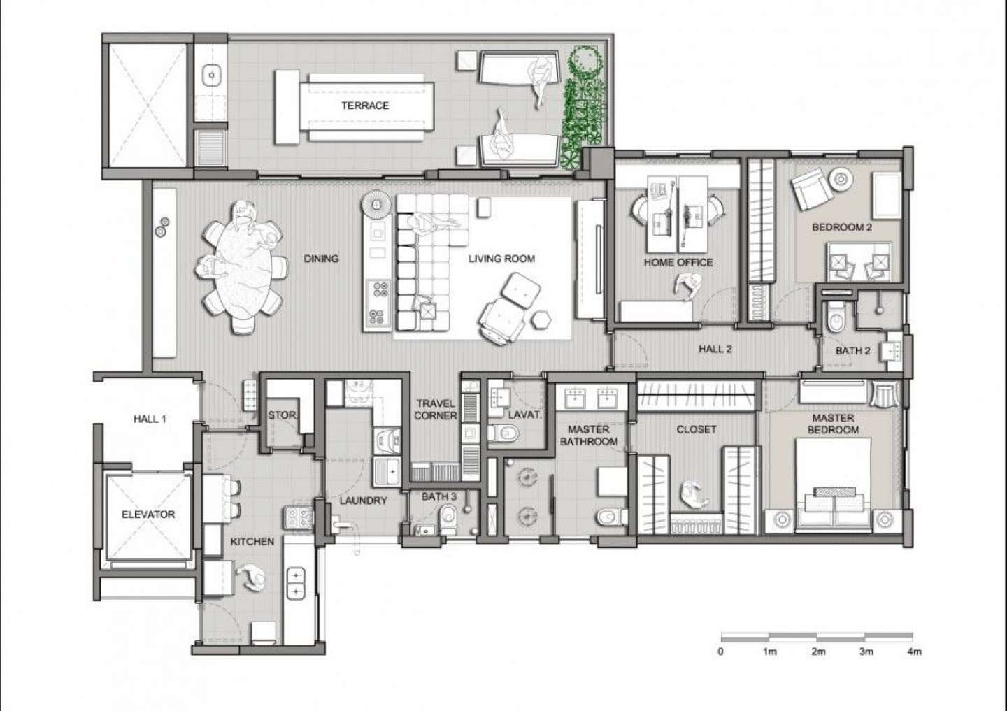 Home Element Modern House Plans Villa