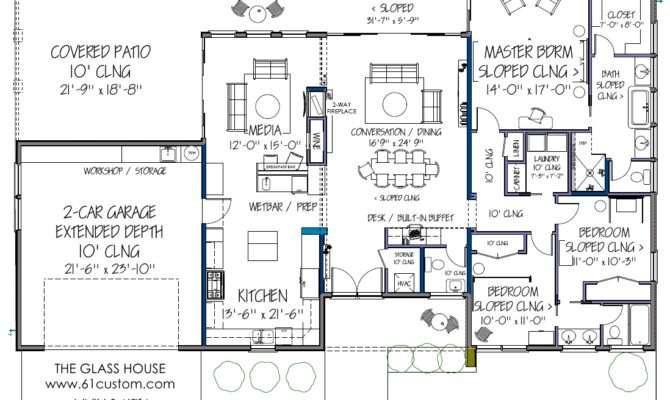 Home Floor Plan Design Ranch Foundation
