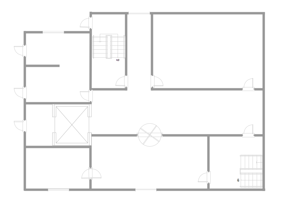 Home Floor Plan Template Design Style