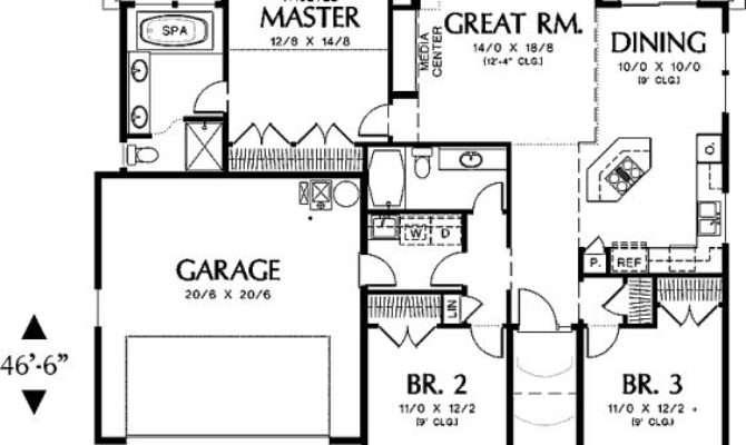 Home Floor Plans Square Feet