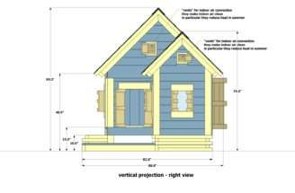 Home Garden Plans Dog House Build