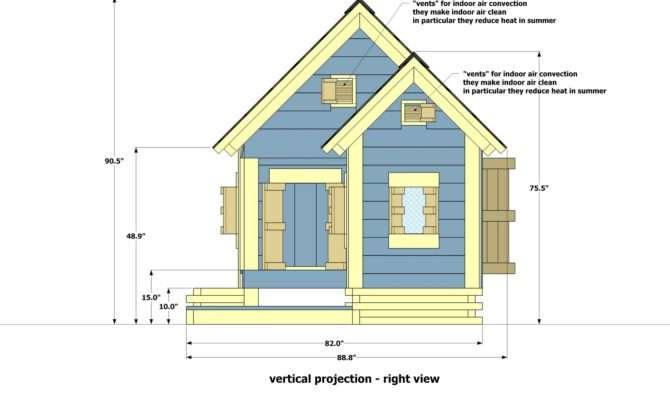 Home Garden Plans Dog House Build