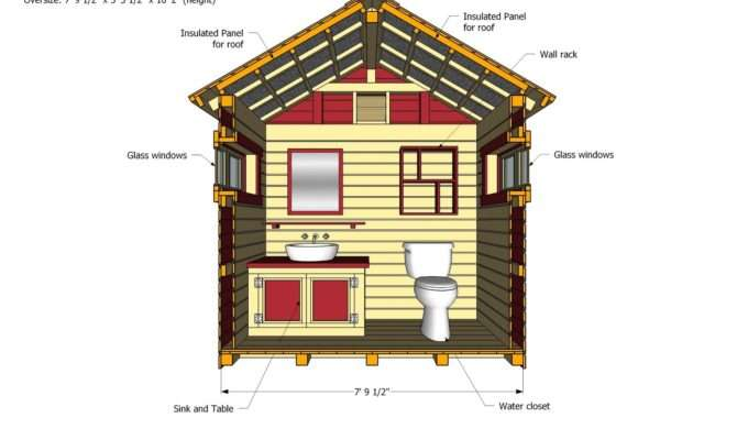 Home Garden Plans Out House Construction
