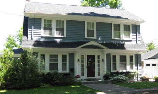 Home Ideas Dutch Colonial Homes Style