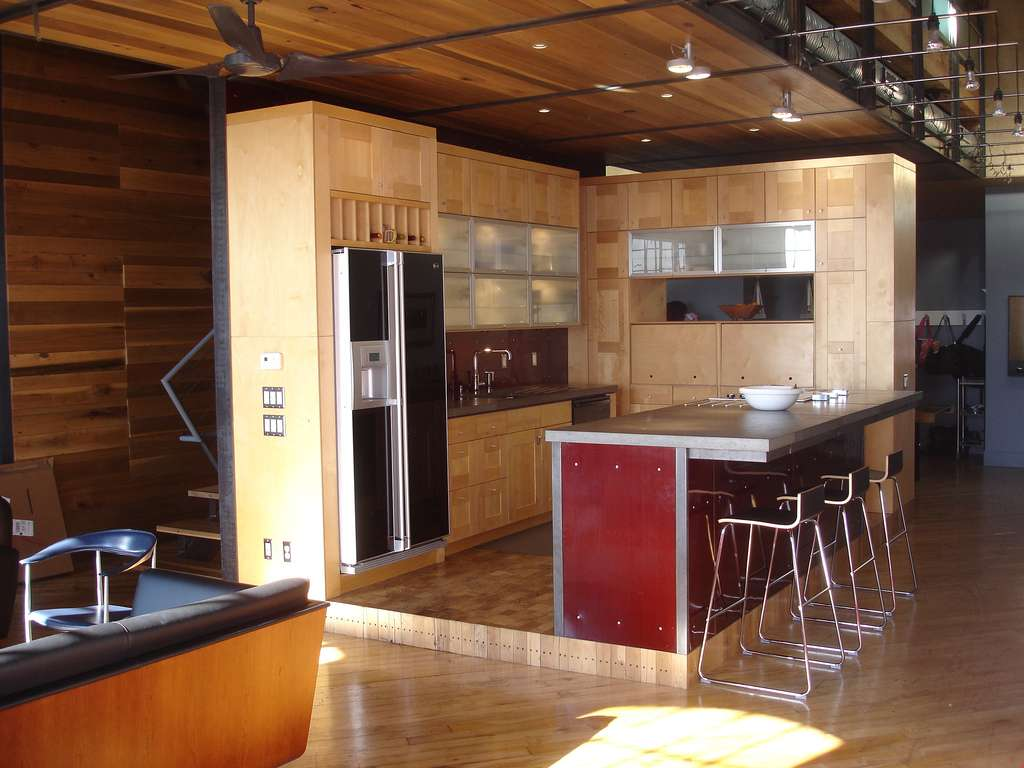 Home Interior Design Wood Kitchen Designs