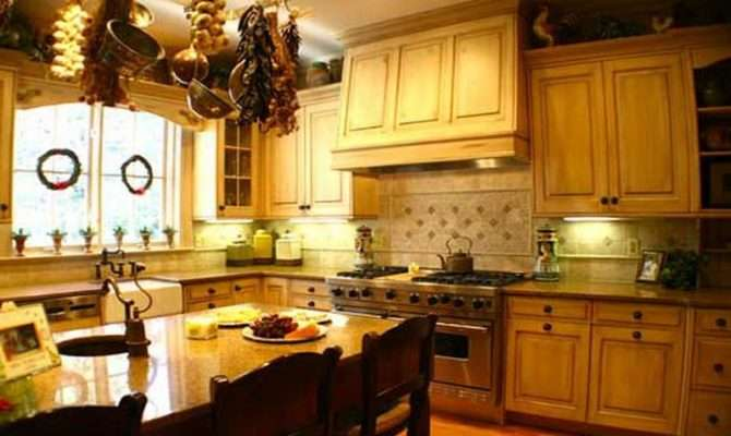 Home Kitchen Decorating Ideas French Country