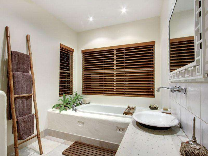 Home Mediterranean Architecture Interior Design Bathroom