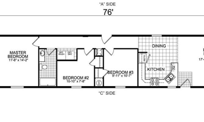 Home Mobile Floor Plans Glenwood Collection Design