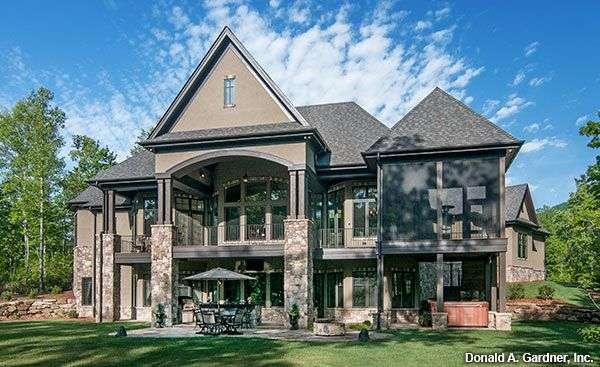 Home Plan Designs Walkout Basement House Plans