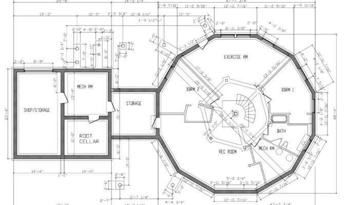 Home Plan Drawings Foundation