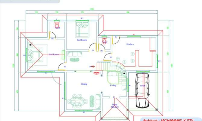 Home Plan Elevation Kerala Design