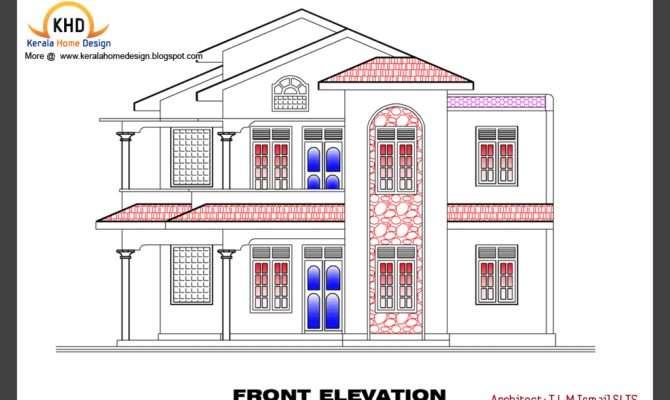 Home Plan Elevation