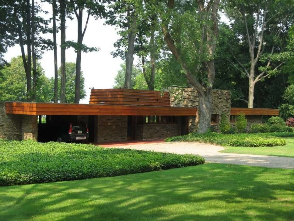 Home Plan Frank Lloyd Wright House Plans