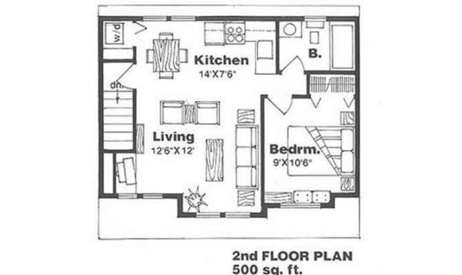 Home Plan House Plans Under Feet Square