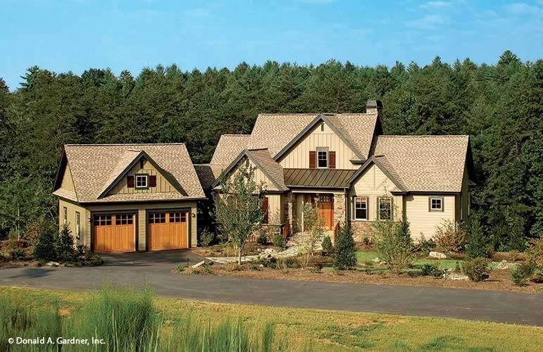 Home Plan Riva Ridge Donald Gardner Architects