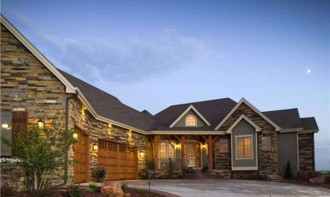 Home Plan Uses Courtyard Provide House