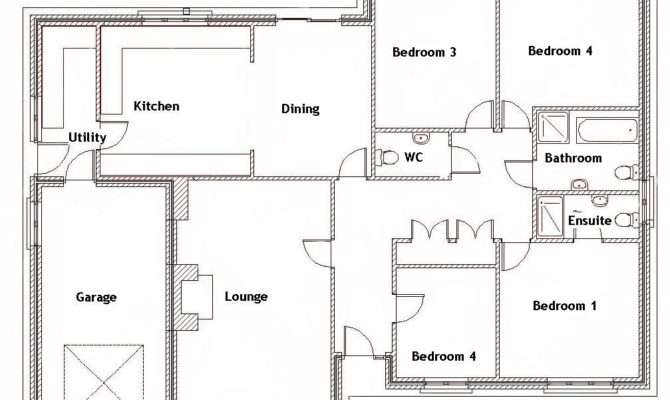 Home Plans Bedroom House