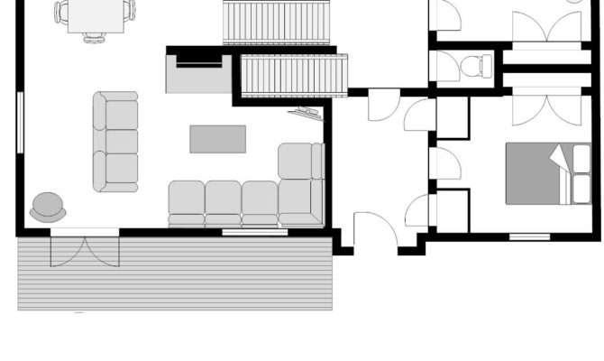 Home Plans Chalet Floor