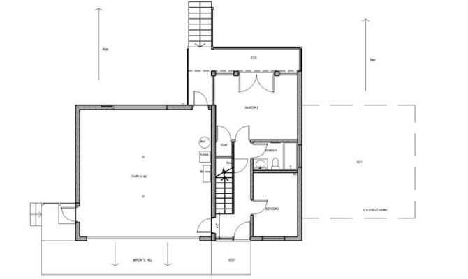 Home Plans Inverted House