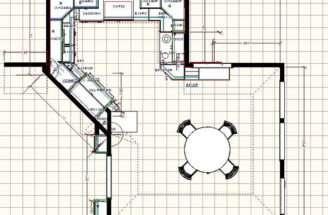 Home Plans Large Kitchen Floor