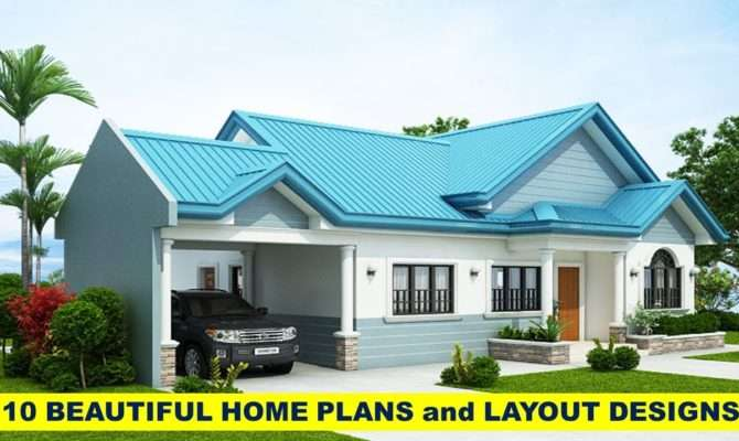 Home Plans Layout Design Beautiful Houses