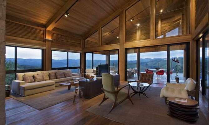 Home Plans Open Floor Roof Wood