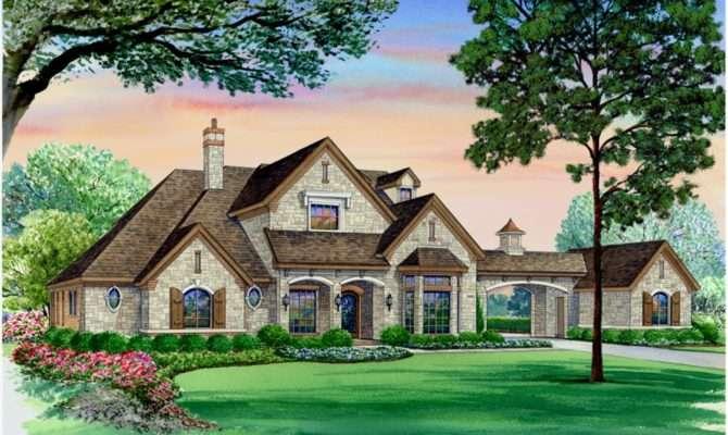 Home Plans Portico