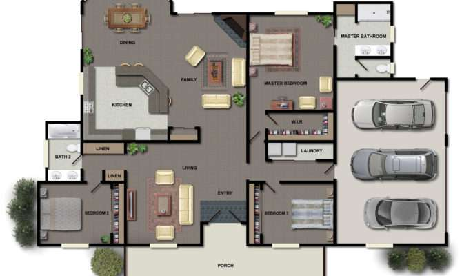 Home Plans Small Estate Mansion