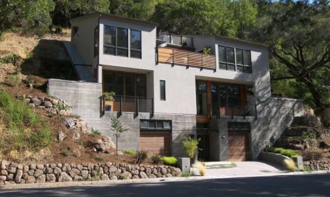 Home Plans Steep Slope