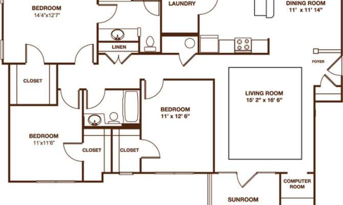 Home Plans Sunroom Floor
