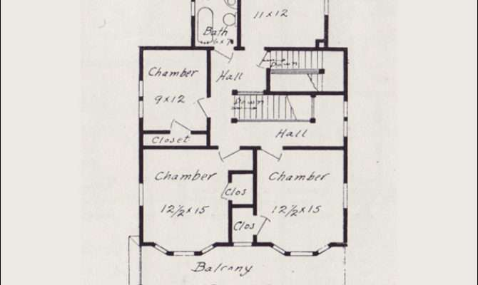 Home Plans Vintage Floor