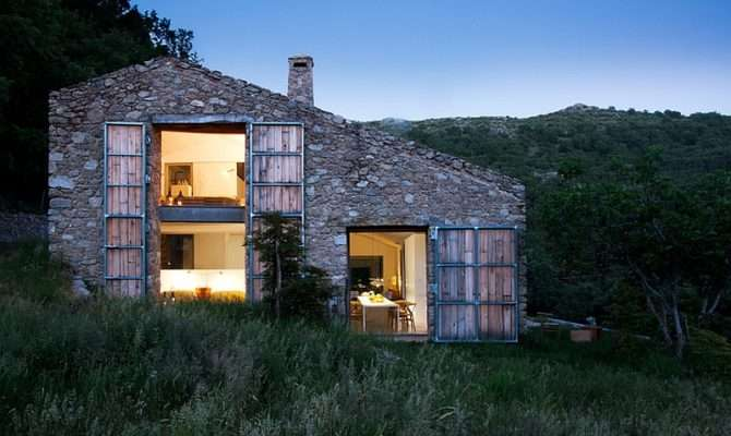 Home Rustic Spanish Stable Renovated Into Sustainable Modern