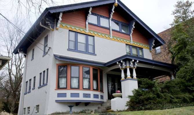 Home Tour Swiss Chalet Cincinnati Style Story