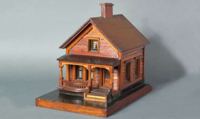 Home Traditional Americana Houses Wooden House Model