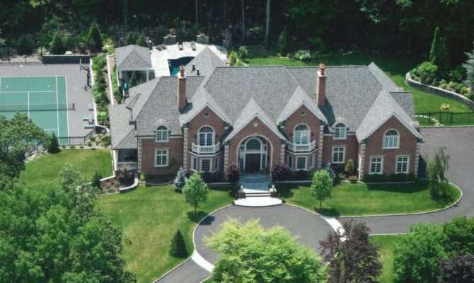 Home United States Homes Million Brick Colonial Mansion New