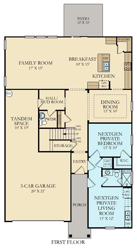 Home Within Taylor New Plan Coosaw