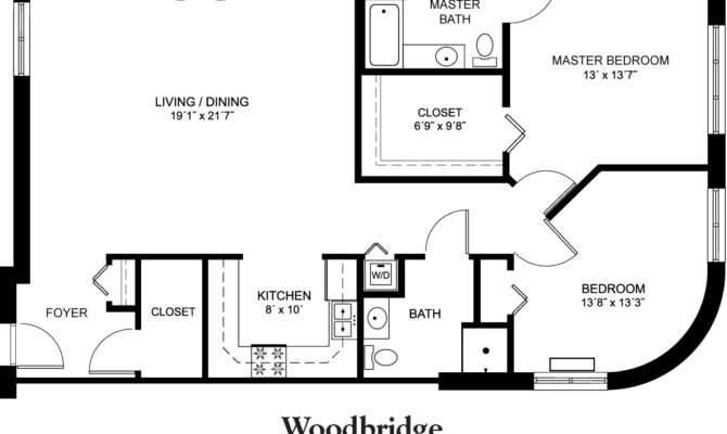 Home Woodbridge Floor Plan Square Feet