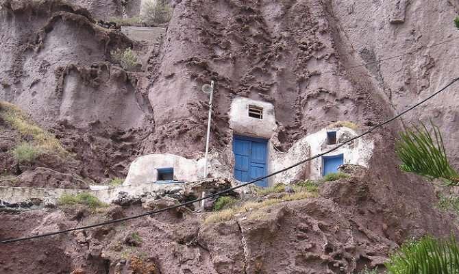 Homes Built Into Hillside Flickr Sharing