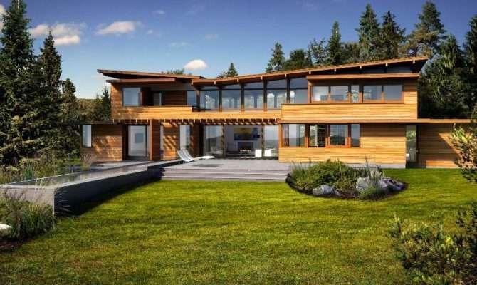 Homes Collection Turkel Design Lindal Cedar Modern Eco Home