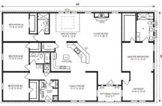 Homes Floor Plans Furniture Manufactured Home Mobile