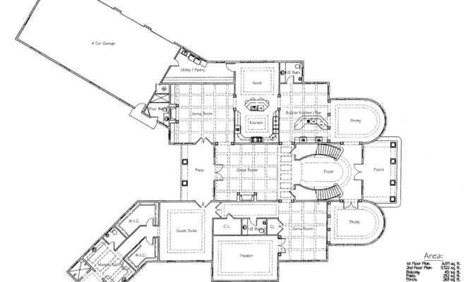 Homes Mansions Plans Mansion Home Design