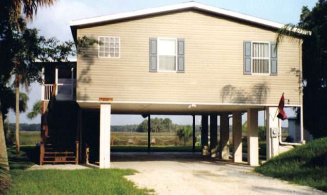 Homes Stilts House Plans