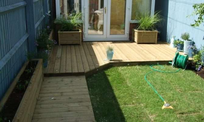 Homey Design Decking Designs Small Gardens Great
