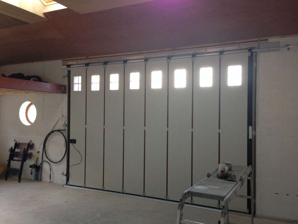 Hormann Vertical Side Sliding Garage Door Interior Abi Doors