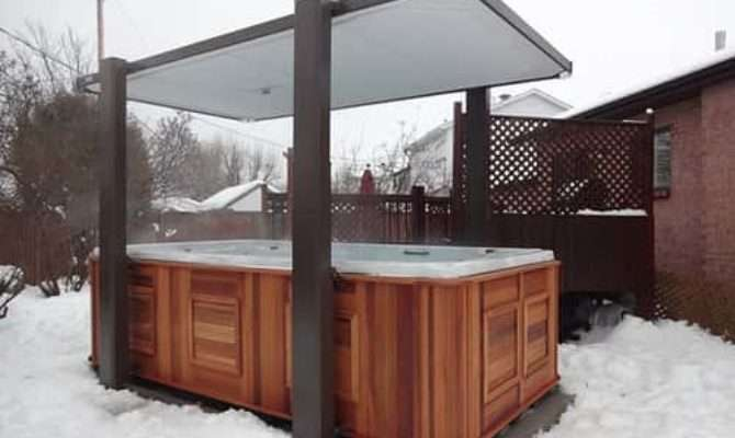Hot Tub Enclosure Winter Ideas Have Build