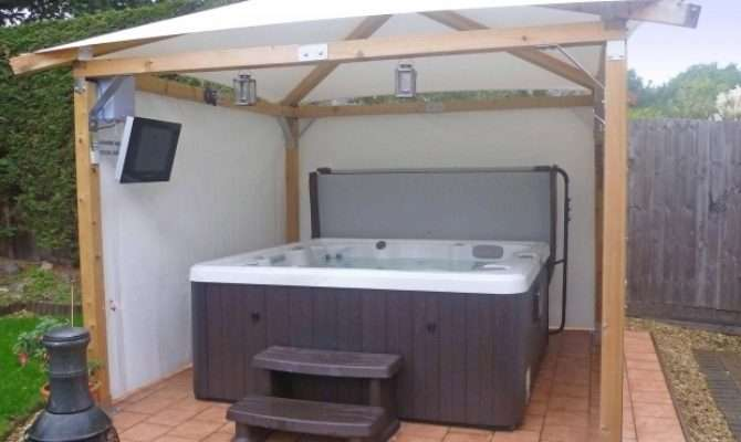 Hot Tub Gazebo Plans Pergola Ideas