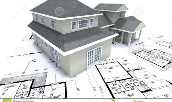 House Architect Plans Illustration